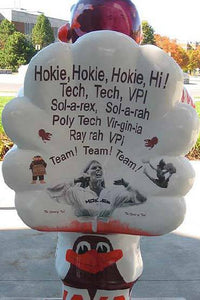 Hokie Bird Statue