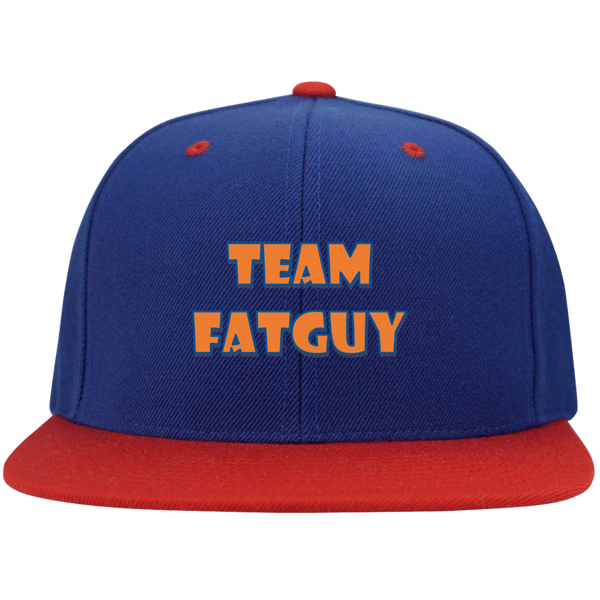 STC19 Flat Bill High-Profile Snapback Hat