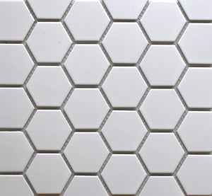 Hexagon Matt White