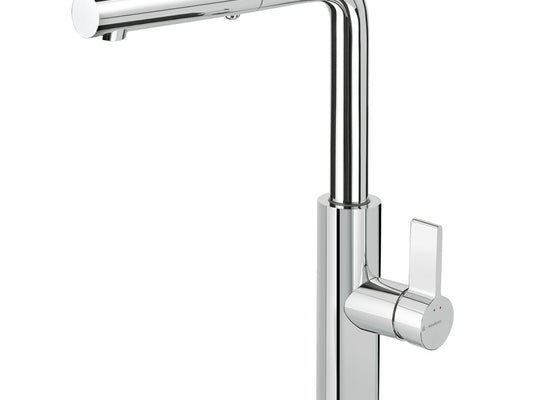 Libera Pullout Spray Mixer - Chrome