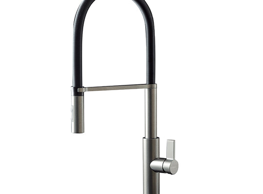Libera Titanium kitchen mixer