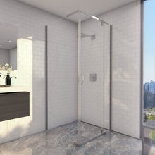 Cascade corner shower screen 900