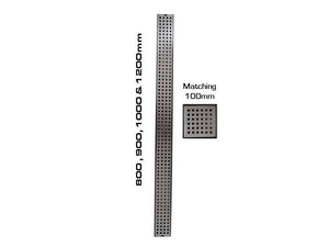 Feel Square Design Shower Grates