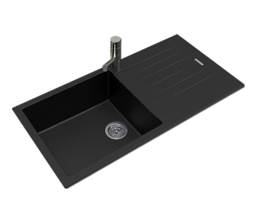 Black Granite Sink 1000
