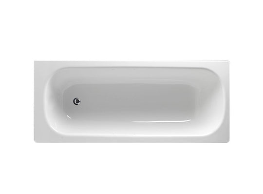 Envy porcelain enamel metal bath