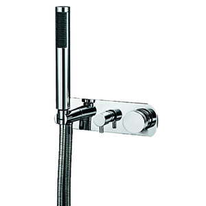 Todo wall mixer divert & hand shower