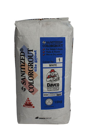 Sanitized Grout 15Kg