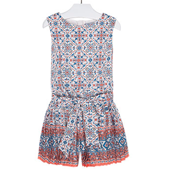 Mayoral Pleated Playsuit