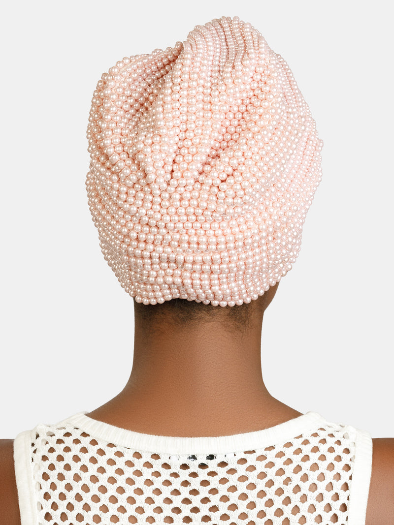 High embellished luxury turban designed by Maryjane Claverol