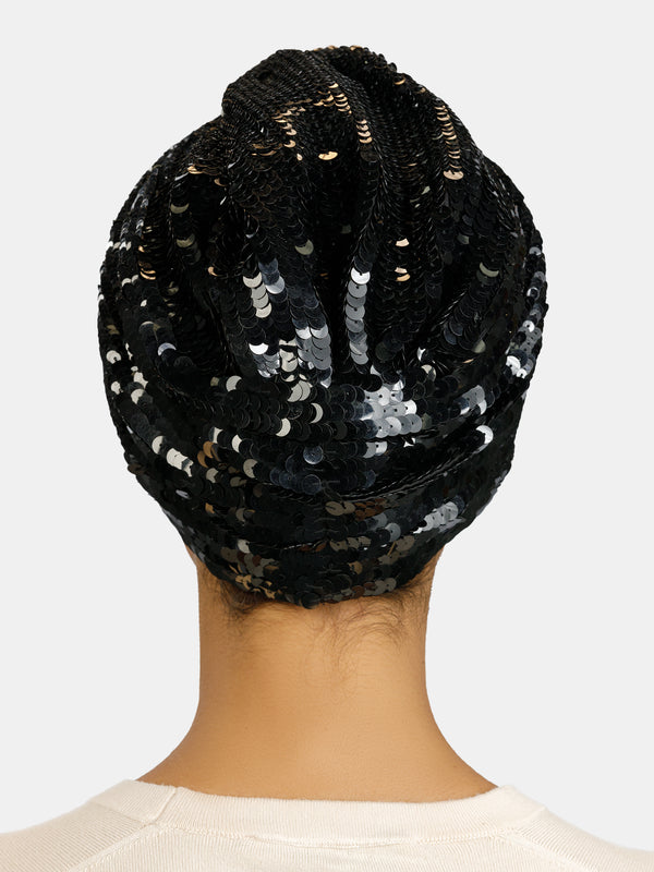 High embellished luxury turban designedly Maryjane Claverol