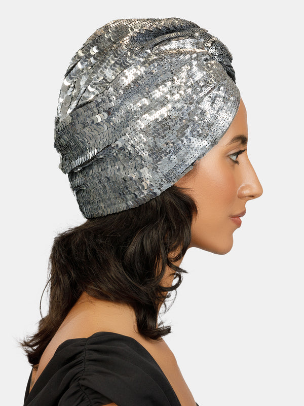 High embellishment turban designed by Maryjane Claverol