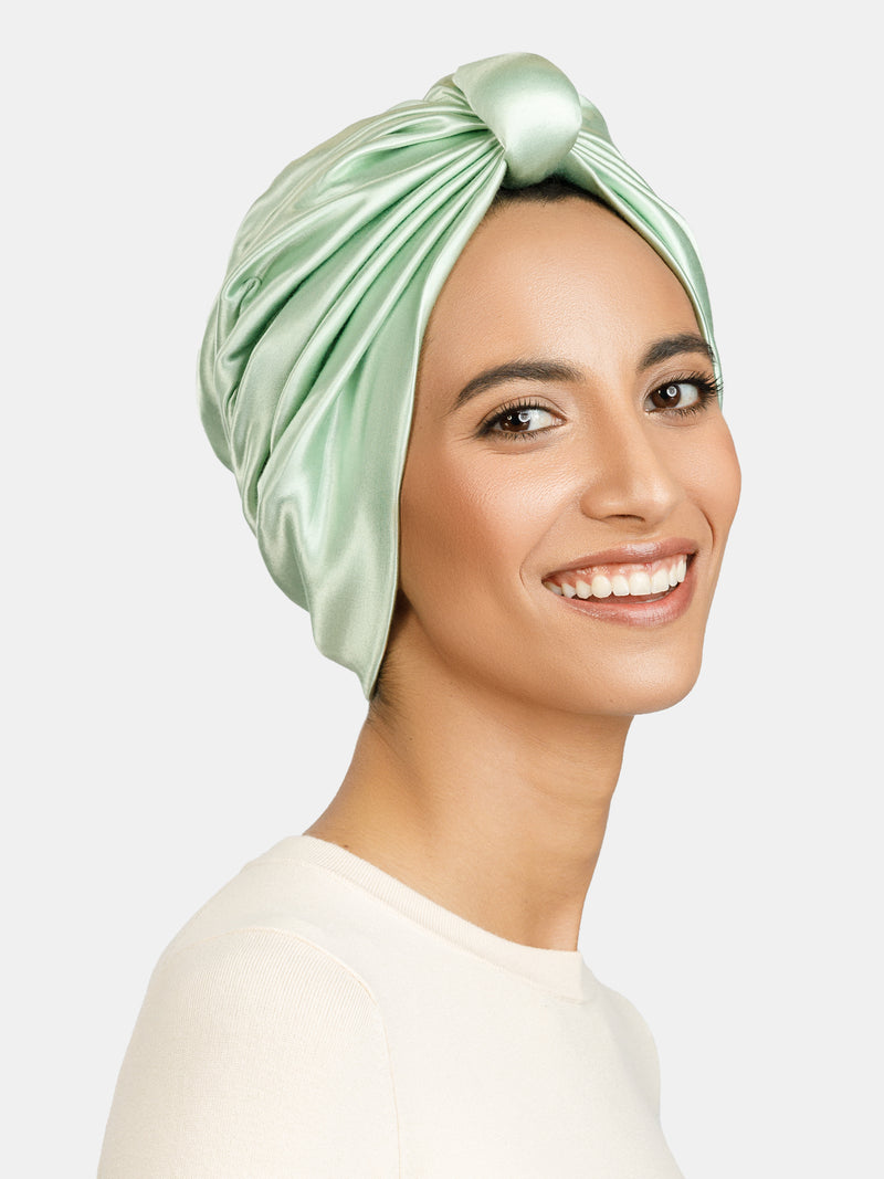 ALISON TURBAN - MINT GREEN