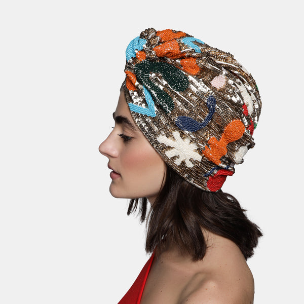 MARYJANE CLAVEROL, New Arrivals , TURBAN by Maryjane Claverol