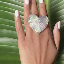Load and play video in Gallery viewer, Classic Heart Chakra Ring No. 1