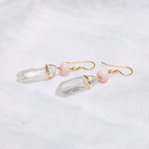 Aura Quartz Queen Earrings