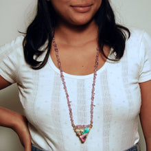 Load image into Gallery viewer, Cotton Candy Colored Necklace No. 3 (4814063337581)