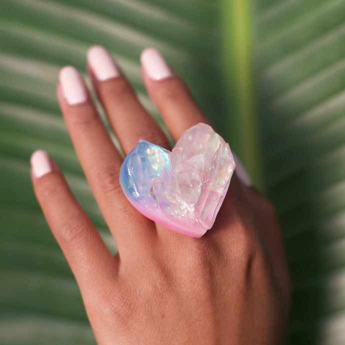 Cotton Candy Colored Ring No. 7 (4814038532205)