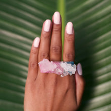 Load image into Gallery viewer, Cotton Candy Colored Ring No. 5
