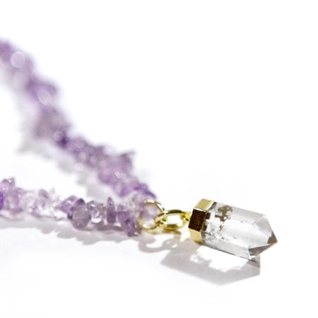 Chill Out Amethyst Necklace (4787363020909)