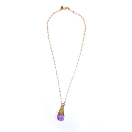 Purple Jade Necklace (4800833060973)