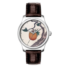 Load image into Gallery viewer, Katsushika Hokusai ─ Grasshopper and Persimmon