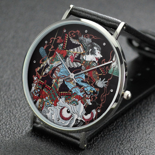 Yoshitoshi wrist watch ─ Warrior on Skull