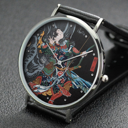 Yoshitoshi wrist watch ─ Jiang Wu (Shobu) and the Elephant