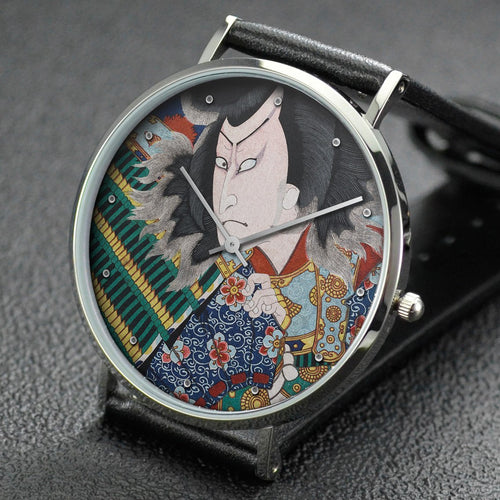 Yoshitoshi wrist watch ─ Actor Band? Shinsui as Takechi Mitsuhide
