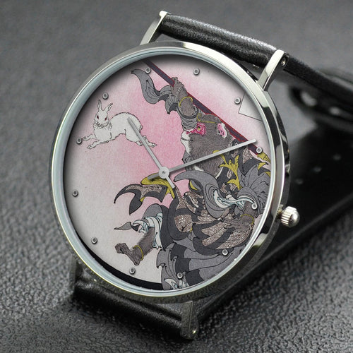 Yoshitoshi wrist watch ─ Jade Rabbit: Sun Wukong