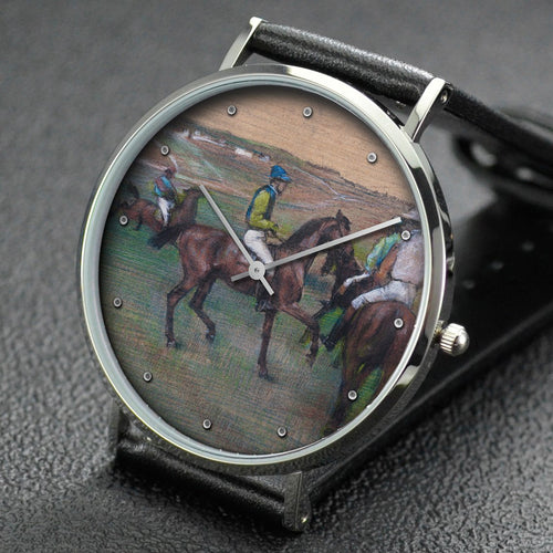 Edgar Degas wrist watch ─ Race Horses
