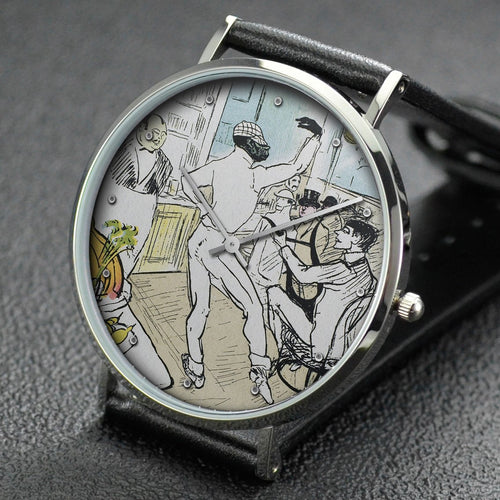Henri de Toulouse-Lautrec wrist watch ─ Chocolate Dancing