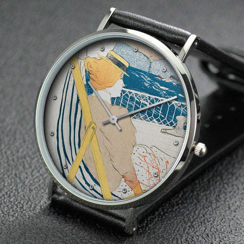 Henri de Toulouse-Lautrec wrist watch ─ The Passenger in Cabin 54-Cruise