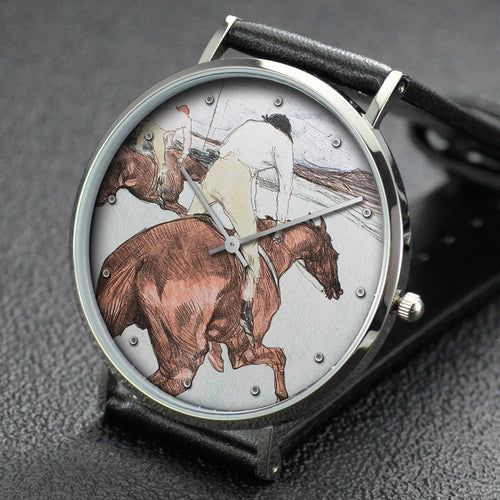 Henri de Toulouse-Lautrec wrist watch ─ The Jockey