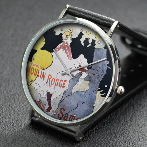 Henri de Toulouse-Lautrec wrist watch ─ Moulin Rouge: La Goulue