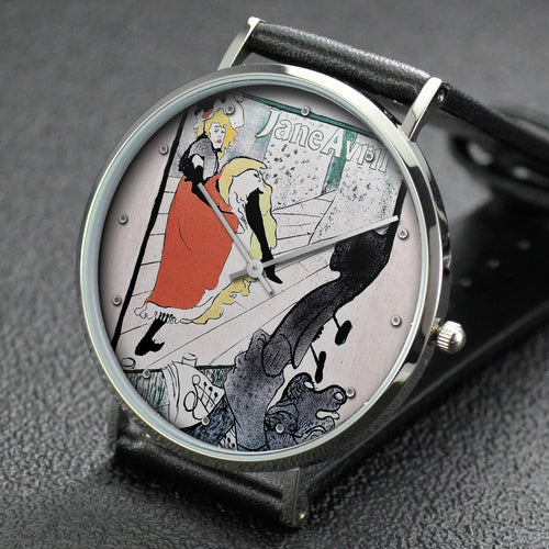 Henri de Toulouse-Lautrec wrist watch ─ Jane Avril