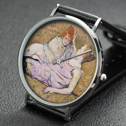 Henri de Toulouse-Lautrec wrist watch ─ The Sofa
