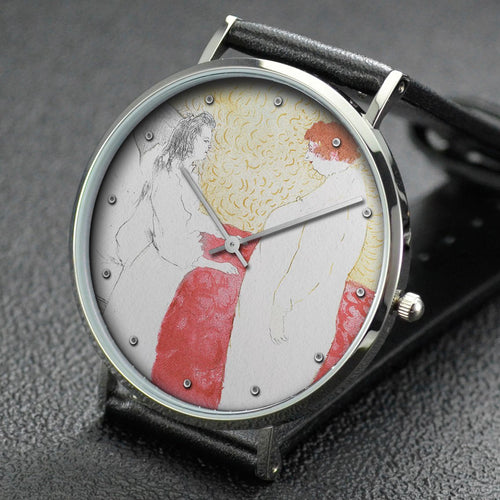 Henri de Toulouse-Lautrec wrist watch ─ Getting Up