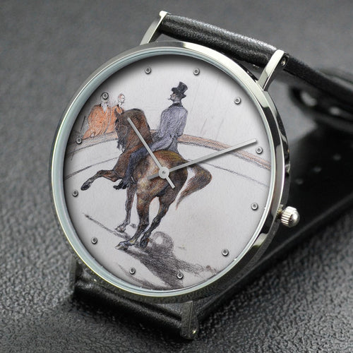 Henri de Toulouse-Lautrec wrist watch ─ At the Circus: The Spanish Walk