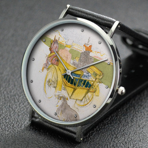 Henri de Toulouse-Lautrec wrist watch ─ Country Outing