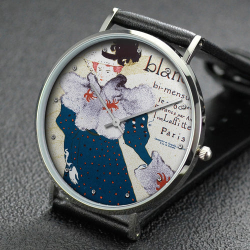 Henri de Toulouse-Lautrec wrist watch ─ Poster for the