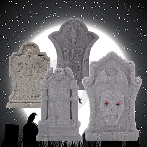 Halloween Skeleton Tombstone Graveyard Decor