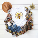 Bee Kind to Everyone - Kindness Themed Crew Neck T-Shirt