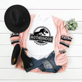 It's a Walk in the Park - Jurassic / Motherhood Crew Neck T-Shirt
