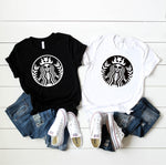 Skeleton Starbucks - Coffee Lover Halloween / Fall Themed T-Shirt