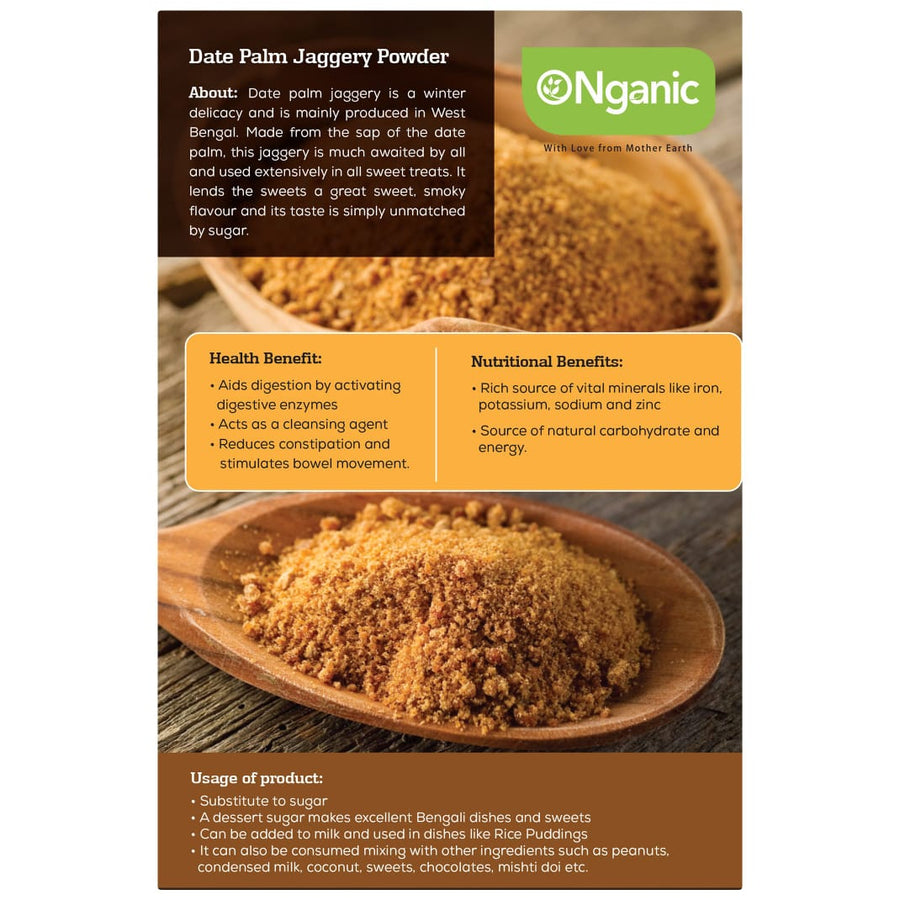Jaggery-Powdered, Date Palm