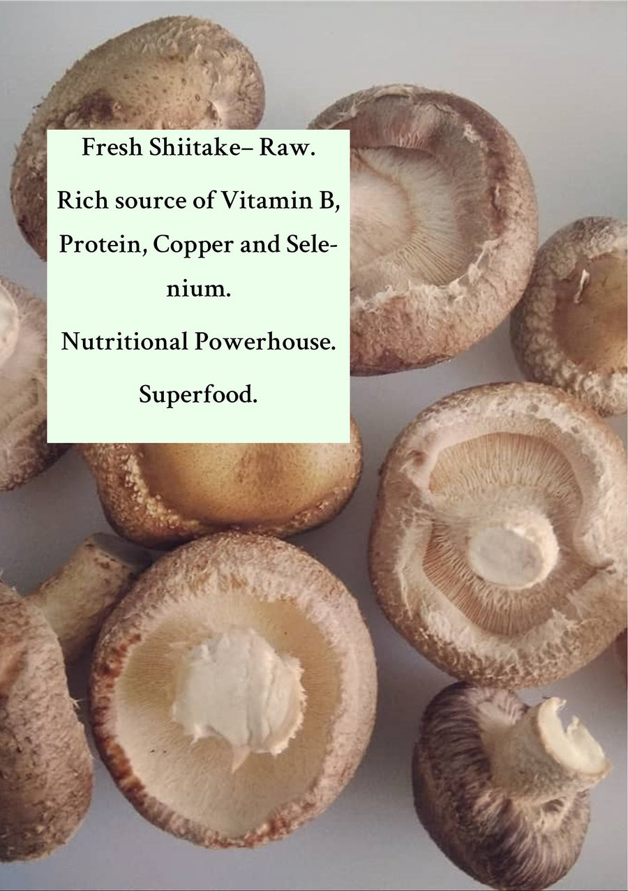 Farm-fresh Mushrooms Shiitake-100 grams