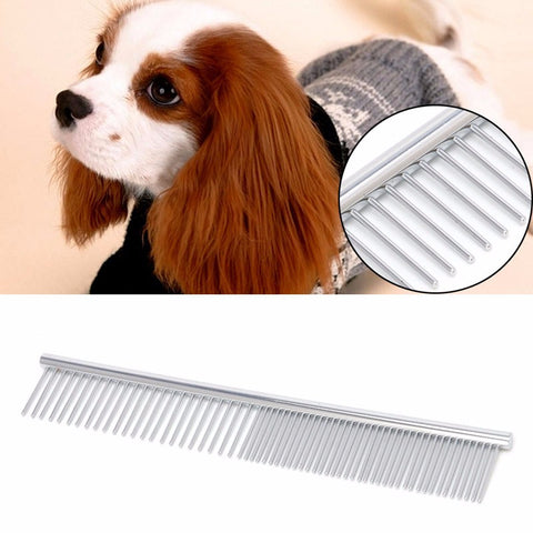 New Metal Double Row Comb