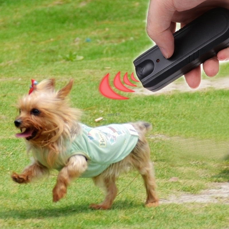 New Ultrasonic Dog Repeller Training Devices