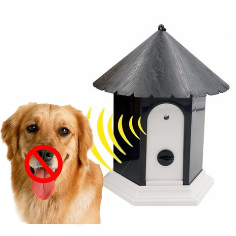 House Shape Outdoor Stop Bark Device