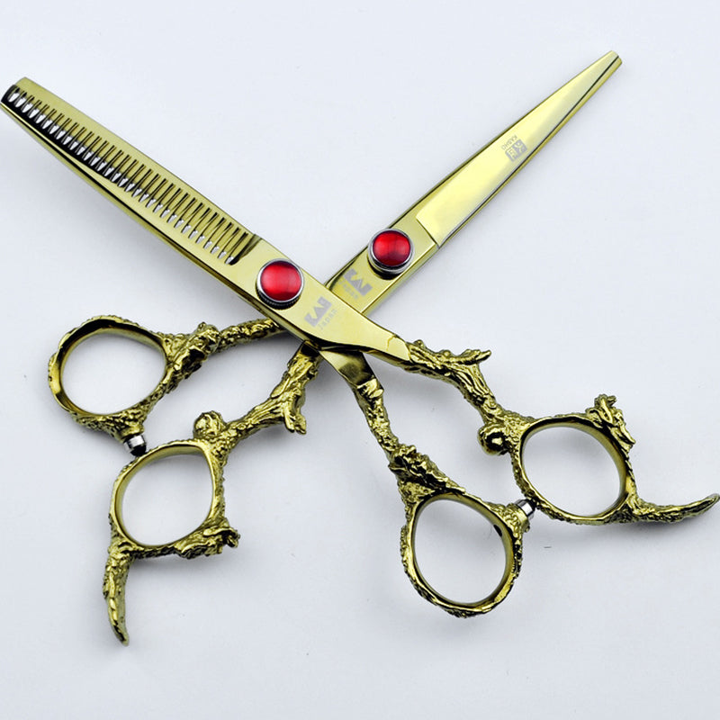 Professional Gold Shears Grooming Tools
